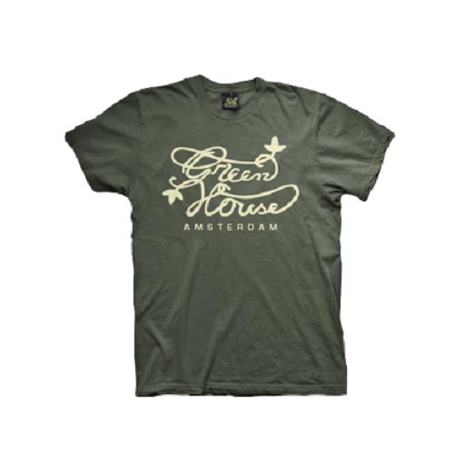 Camiseta Green House Logo - Verde